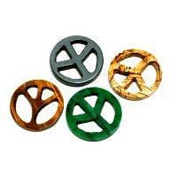 PEACE Set - 5 Stk. aus verschiedenen Steinsorten-