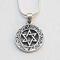 Hexagramm aus Silber PE51