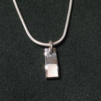 Kleiner Silberschmuck Anhaenger Perlmutt SSAH40