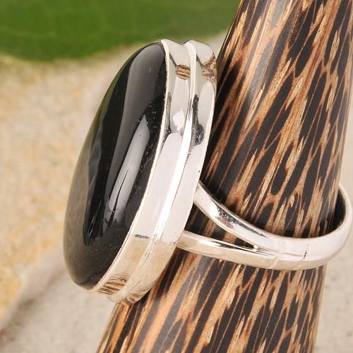 Onyx Silberring Nr009