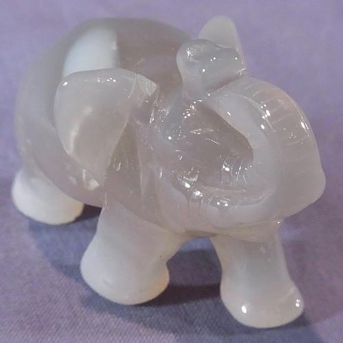 Achat Elefant Edelsteinfigur 50