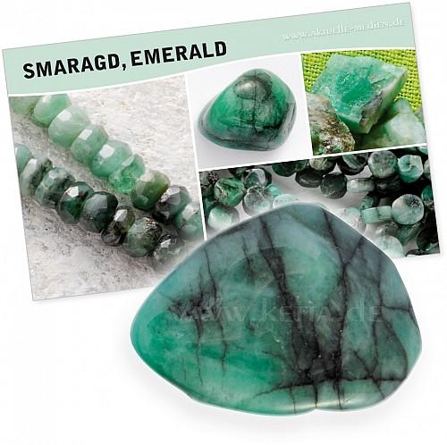 Emerald (Smaragd) Bedeutung Karte Set