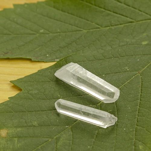 Bergkristallspitzen für Wassersteine zum Einleiten Mini 3 Stk.