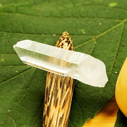 Natur Bergkristallspitzen für Edelsteinwasser 20/40 2*7MM 5PCS