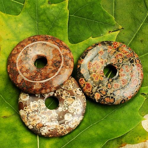 Leopard Jaspis Donut