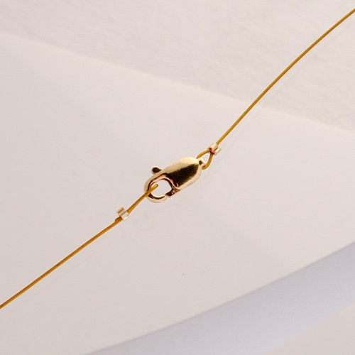 Lobster claw 4x10mm Gold Filled 14K 1/20