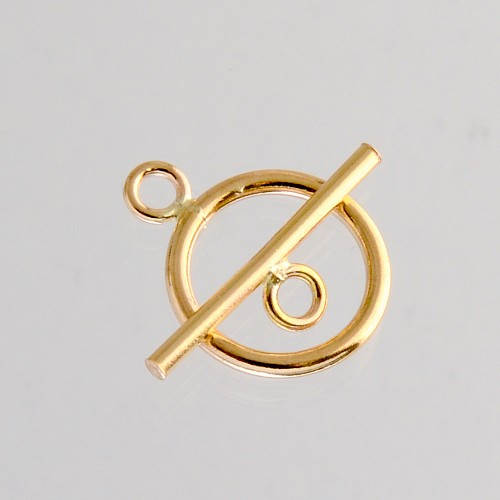 Toggle-Clasp Gold Filled Ring11m Toggle 16mm