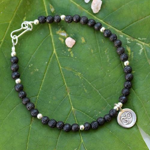 Lava Bracelet Sterling Silver OM
