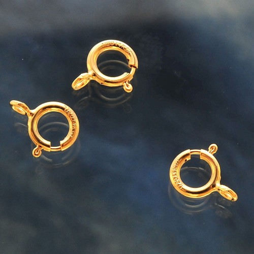 Spring Ring Clasp 5.5mm Gold Filled 14K 1/20 Hamilton