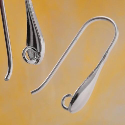 Lange Ohrhaken echt Silber