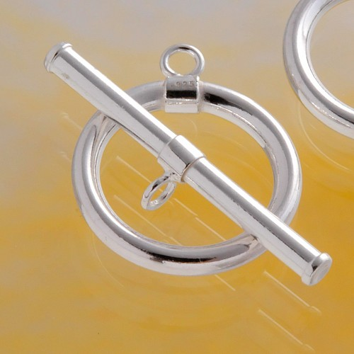 Toggle Clasp Sterling Silver