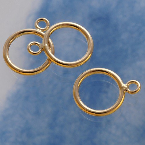 Toggle Ring Gold Filled 11mm
