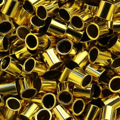 Gold Crimp Perlen Röhrchen 2x2mm Gold Filled 14K 1/20