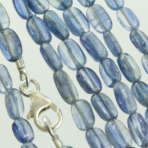 Disthen Necklace Flat Beads