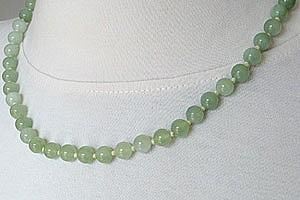 China Jade Kugelkette ca. 42-45cm