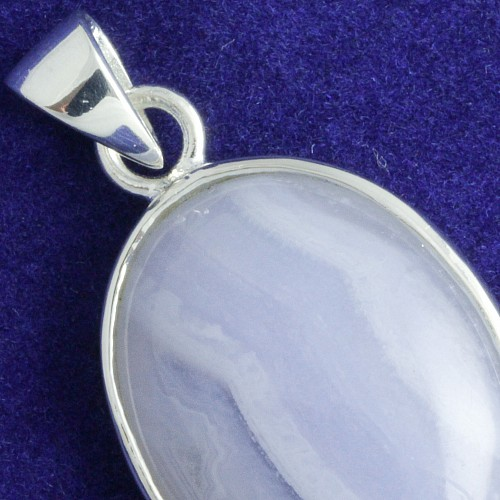 Silver Pendants with Chalcedony 11053