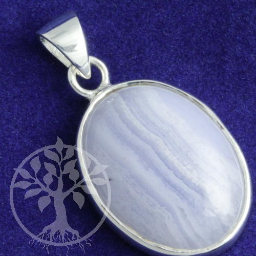 Silver Pendants with Chalcedony 0162