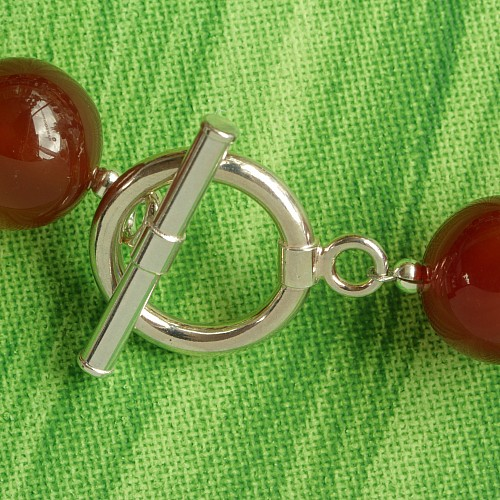 Toogle Clasp Giant Sterling Silver