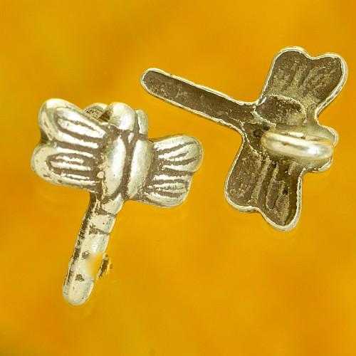 Heart in Heart small sterling silver pendant 925