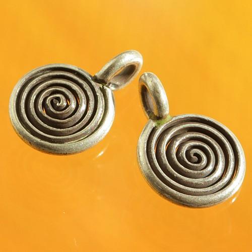 Mini Spiral Sterling Silver 925 pendant