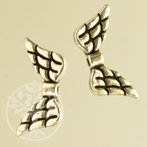 Stone angel wings sterling silver 925