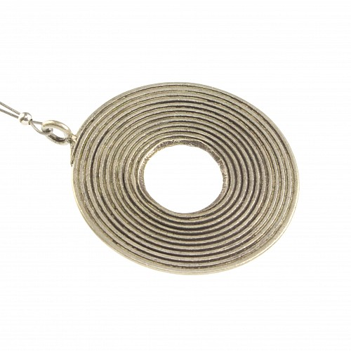 Toogle Clasp Sun Sterling Silver
