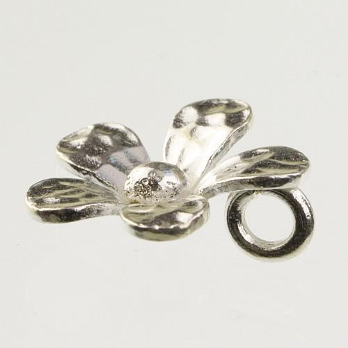 Small sterlingsilver flower pendant 925