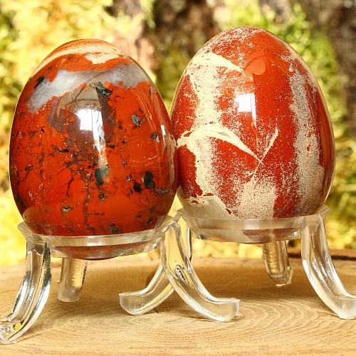Red Jasper Egg 45 mm