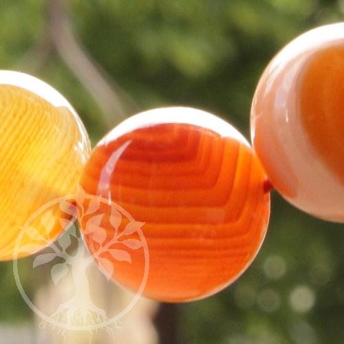 Achat Rot Edelstein Perlen 18mm Schmuckperlen Big