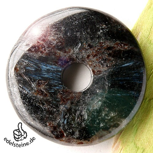 Antophyllit Astrophyllith mit Biotit Donut 35mm