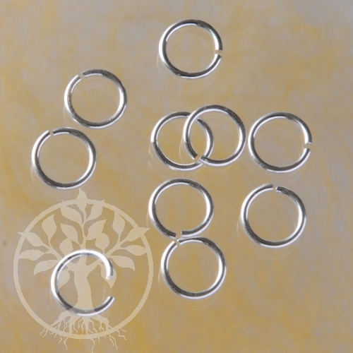 Jumpring open 7x0.8mm Sterlingsilver Ring Silver Finding