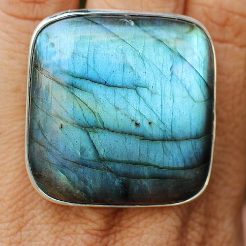 Labradorit Ring AA Silberring