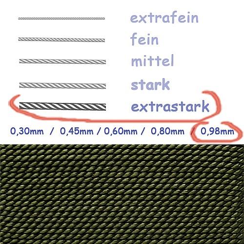 Natural Silk Khaki 0,98mm