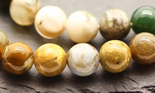 Ocean Jaspis Edelsteine Perlen  6 mm A Ozean Achat