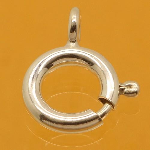 Silver 925 Spring Ring 7mm