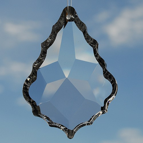 Teardrop Feng Shui Kristall, 88x60 mm Groß