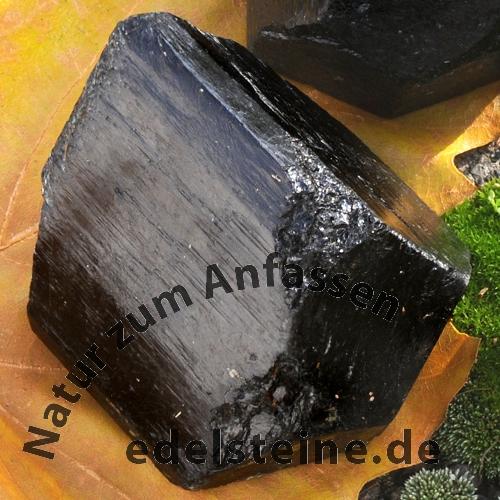 Schwarzer Turmalin Rohstücke Doppelender 60*80mm 1kg Große Schörl Kristalle Großhandel
