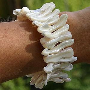 Perlmutt Muschel Armband