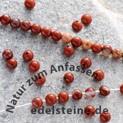 Roter Jaspis Perlen 8mm AA