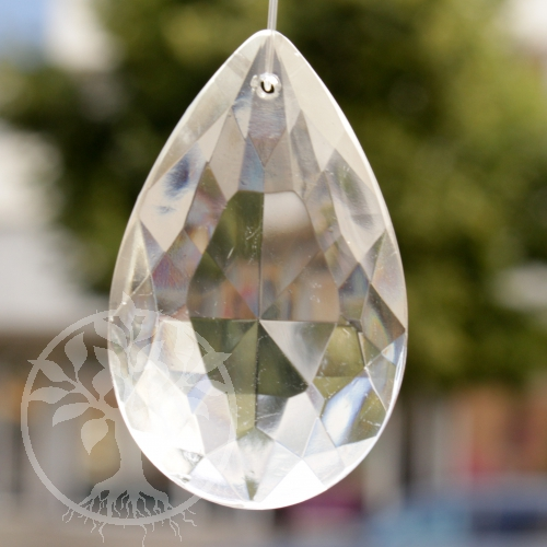 Feng Shui Crystal flat Drop 62 mm