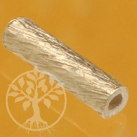 Silver Tubes Brushed Sterlingsilver 925 1.5x5mm