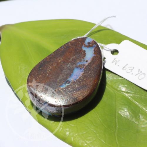 Boulder Opal in Muttergestein Opal in Matrix Anhänger 25x31mm