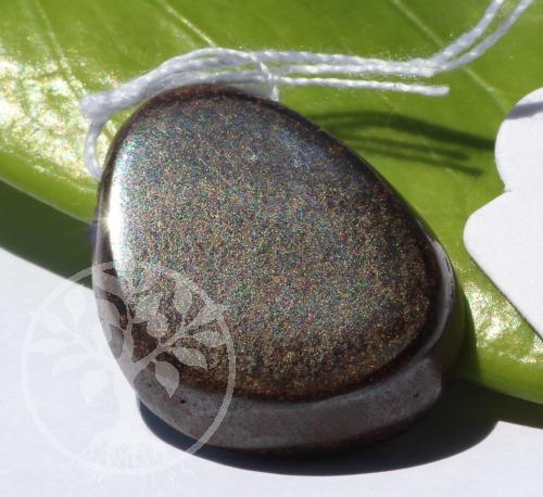 Boulder Opal in Muttergestein Opal in Matrix Anhänger 16x21mm