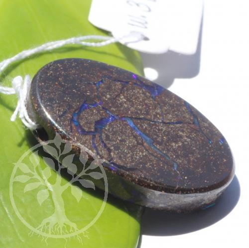 Boulder Opal in Muttergestein Opal in Matrix Anhänger 21x29mm