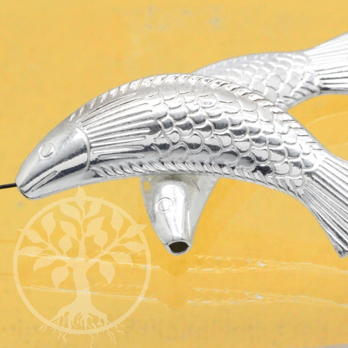 Silverbead Fish Sterlingsilver 925 10X40mm
