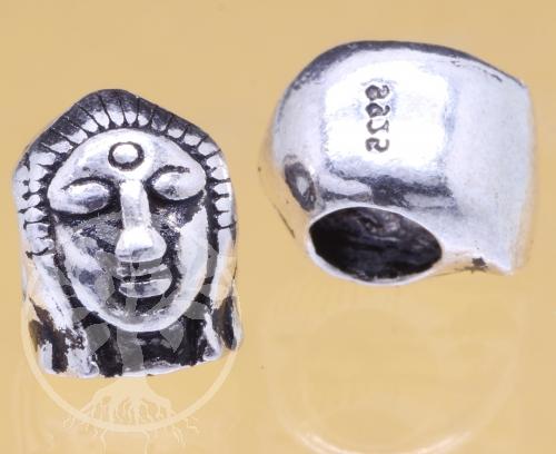 Tara Buddha Silberperle 925 10x8mm