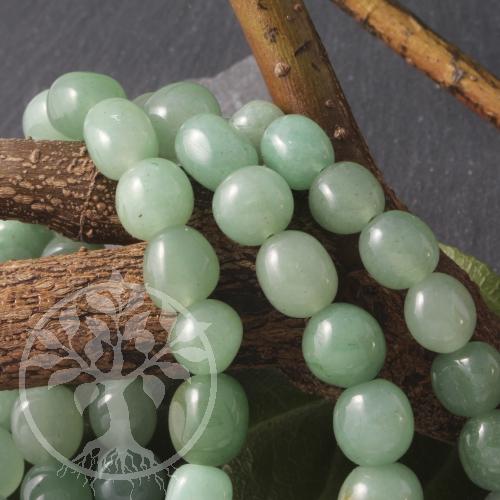 Aventurin Trommelstein - Armband hellgrünes Edelsteinarmband