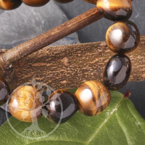 Tiger Eye´s eye bracelet 11 mm bis 12mm
