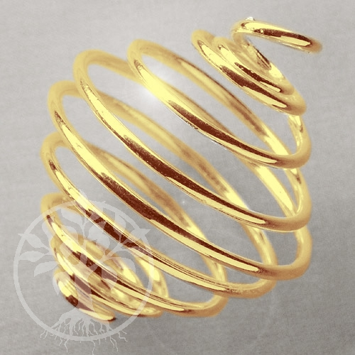 Gold colored Coil