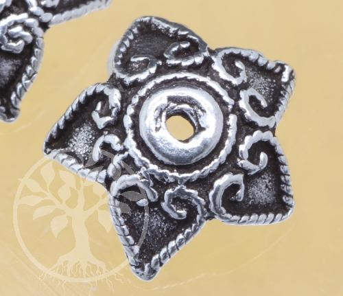 Perlenkappen Silber 925 8x2mm